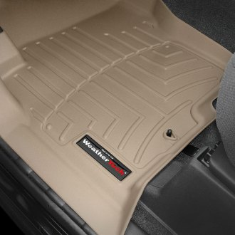 WeatherTech® - DigitalFit™ Molded Floor Liners 1st Row, Tan