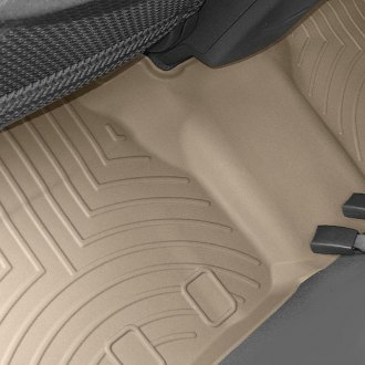 WeatherTech® - DigitalFit™ Molded Floor Liners 2nd Row, Tan