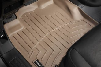 WeatherTech® 450501 - DigitalFit™ Molded Floor Liners (1st Row, Tan)