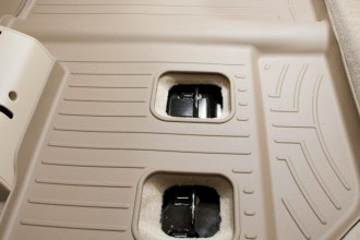 WeatherTech® 450665 - DigitalFit™ Molded Floor Liners (3rd Row, Tan)