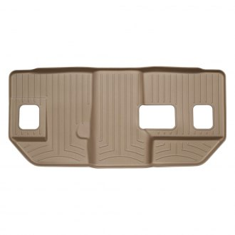 WeatherTech® - DigitalFit™ Molded Floor Liners - 3rd Row, Tan