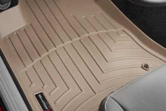 WeatherTech® 450691 - DigitalFit™ Molded Floor Liners (1st Row, Tan)