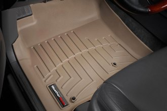 WeatherTech® 450701 - DigitalFit™ Molded Floor Liners (1st Row, Tan)