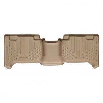 WeatherTech® - DigitalFit™ Molded Floor Liners - 2nd Row, Tan