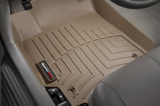 WeatherTech® 450841 - DigitalFit™ Molded Floor Liners (1st Row, Tan)