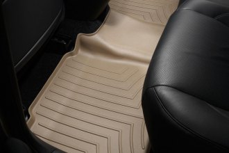 WeatherTech® 450842 - DigitalFit™ Molded Floor Liner (2nd Row, Tan)