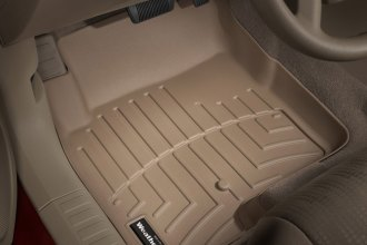 WeatherTech® 450861 - DigitalFit™ Molded Floor Liners (1st Row, Tan)