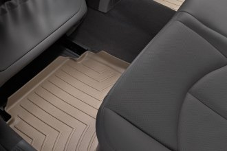WeatherTech® 450882 - DigitalFit™ Molded Floor Liners (2nd Row, Tan)