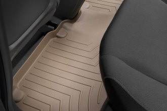 WeatherTech® 450903 - DigitalFit™ Molded Floor Liners (2nd Row, Tan)