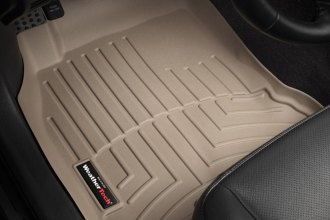 WeatherTech® 450921 - DigitalFit™ Molded Floor Liners (1st Row, Tan)