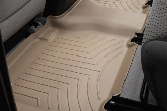 WeatherTech® 450933 - DigitalFit™ Molded Floor Liner (2nd Row, Tan)