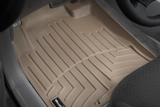 WeatherTech® 450961 - DigitalFit™ Molded Floor Liners (1st Row, Tan)