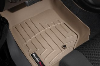 WeatherTech® 451051 - DigitalFit™ Molded Floor Liners (1st Row, Tan)