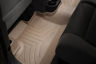 WeatherTech® 451052 - DigitalFit™ Molded Floor Liner (2nd Row, Tan)