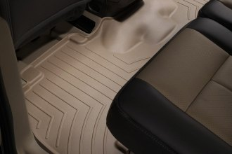 WeatherTech® 451072 - DigitalFit™ Molded Floor Liner (2nd Row, Tan)