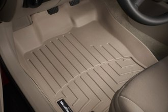 WeatherTech® 451081 - DigitalFit™ Molded Floor Liners (1st Row, Tan)