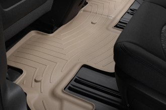 WeatherTech® 451112 - DigitalFit™ Molded Floor Liner (2nd Row, Tan)