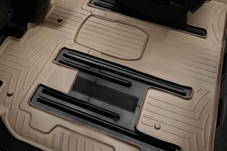 WeatherTech® 451114 - DigitalFit™ Molded Floor Liner (2nd and 3rd Row, Tan)