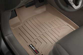 WeatherTech® 451141 - DigitalFit™ Molded Floor Liners (1st Row, Tan)