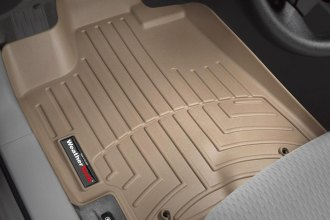 WeatherTech® 451151 - DigitalFit™ Molded Floor Liners (1st Row, Tan)