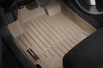 WeatherTech® 451181 - DigitalFit™ Molded Floor Liners (1st Row, Tan)