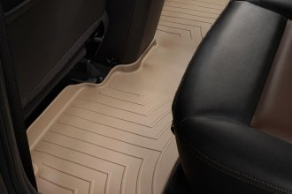 WeatherTech® 451192 - DigitalFit™ Molded Floor Liner (2nd Row, Tan)