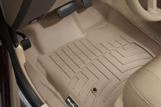 WeatherTech® 451201 - DigitalFit™ Molded Floor Liners (1st Row, Tan)