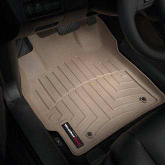 WeatherTech® - DigitalFit™ 1st Row Tan Molded Floor Liners