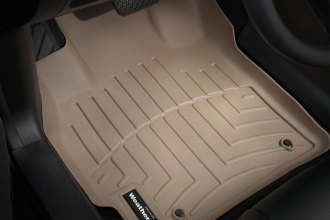 WeatherTech® 451221 - DigitalFit™ Molded Floor Liners (1st Row, Tan)