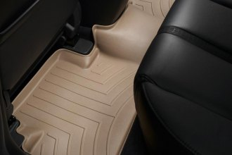 WeatherTech® 451222 - DigitalFit™ Molded Floor Liner (2nd Row, Tan)
