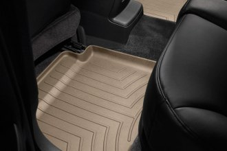 WeatherTech® 451242 - DigitalFit™ Molded Floor Liners (2nd Row, Tan)