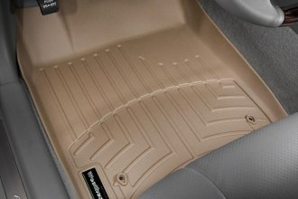 WeatherTech® 451301 - DigitalFit™ Molded Floor Liners (1st Row, Tan)