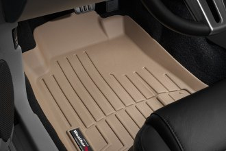 WeatherTech® 451391 - DigitalFit™ Molded Floor Liners (1st Row, Tan)
