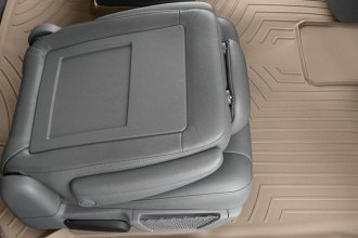 WeatherTech® 451414 - DigitalFit™ Molded Floor Liner (2nd and 3rd Row, Tan)