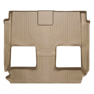 WeatherTech® - DigitalFit™ Molded Floor Liners - 2nd and 3rd Row, Tan