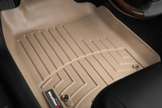 WeatherTech® 451431 - DigitalFit™ Molded Floor Liners (1st Row, Tan)