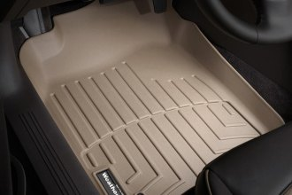 WeatherTech® 451441 - DigitalFit™ Molded Floor Liners (1st Row, Tan)