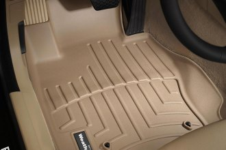 WeatherTech® 451461 - DigitalFit™ Molded Floor Liners (1st Row, Tan)