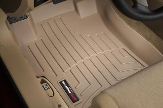 WeatherTech® 451481 - DigitalFit™ Molded Floor Liners (1st Row, Tan)