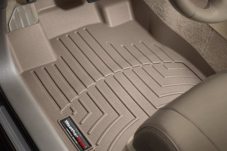 WeatherTech® 451541 - DigitalFit™ Molded Floor Liners (1st Row, Tan)