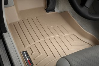 WeatherTech® 451611 - DigitalFit™ Molded Floor Liners (1st Row, Tan)