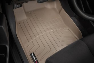 WeatherTech® 451681 - DigitalFit™ Molded Floor Liners (1st Row, Tan)