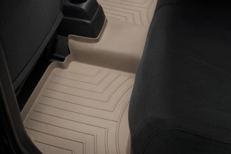 WeatherTech® 451682 - DigitalFit™ Molded Floor Liners (2nd Row, Tan)