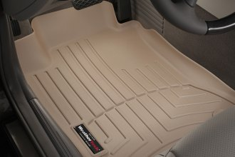 WeatherTech® 451731 - DigitalFit™ Molded Floor Liners (1st Row, Tan)