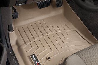 WeatherTech® 451791 - DigitalFit™ Molded Floor Liners (1st Row, Tan)