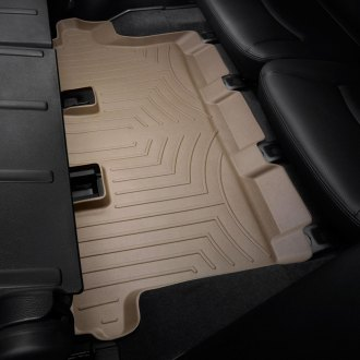 WeatherTech® - DigitalFit™ Molded Floor Liner (3rd Row, Tan)