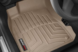 WeatherTech® 451941 - DigitalFit™ Molded Floor Liners (1st Row, Tan)