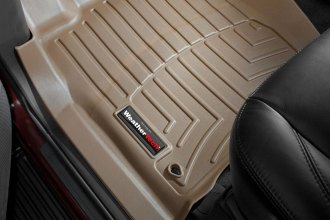 WeatherTech® 452091 - DigitalFit™ Molded Floor Liners (1st Row, Tan)