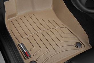 WeatherTech® 452191 - DigitalFit™ Molded Floor Liners (1st Row, Tan)