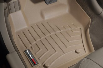 WeatherTech® 452341 - DigitalFit™ Molded Floor Liners (1st Row, Tan)